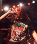 "George""Corpsegrinder"" Fisher На концерте